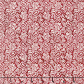The Little Things - Paisley Red/Natural Yardage
