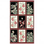 Winter Elegance - Ornament Multi Metallic Panel