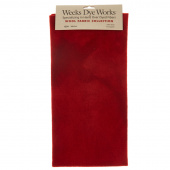 Weeks Dye Works Hand Over Dyed Wool Fat Quarter - Solid Merlot