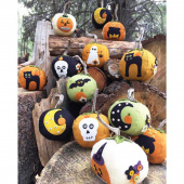 Eek! Spooks! Stuffed Pumpkins Ornament Kit