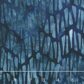 Artisan Batiks - Natural Formations 3 Rain Mosaic Navy Yardage