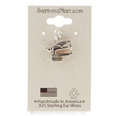 Long Arm Sewing Machine Charm