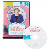 "Missouri Star Precut Party DVD: Work Like a Charm with 5"" Squares"