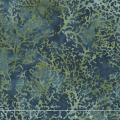 Sand Bar Batiks - Coral Smoke Yardage