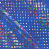 Starlight & Splendor - Sparkle Spot Sapphire Digitally Printed Yardage