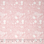 Anne of Green Gables - Anne Silhouette Pink Yardage
