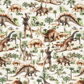 Animals - Allover Dinosaur Yardage