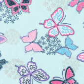 "Cuddle Prints - Butterfly Wings 60"" Minky Yardage"