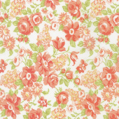 Farmhouse II - Blooms Milk Yardage