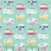 I'd Rather Be Glamping - Campers Mint Yardage