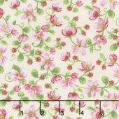 Apple Festival - Blooming Vine Cream Yardage