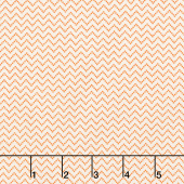 Aunt Grace Backgrounds - Zig Zag Peach Yardage