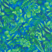 Butterfly Paradise - Silhouettes Royal Yardage