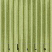Wild Rose - Tonal Stripe Green Flannel Yardage