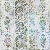Artisan Batiks - Terrace Flowers Garden Yardage