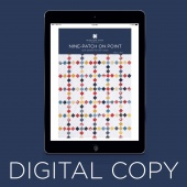 Digital Download - Nine Patch on Point Quilt Pattern by MSQC