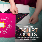 Tackling T-Shirt Quilts