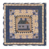 American Quilts Coaster - House