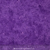 Wilmington Essentials - Amethyst Royale Spatter Texture Bright Purple Yardage