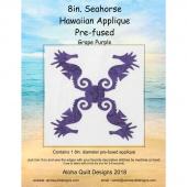 Seahorse Precut Fusible Appliqué Shape