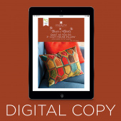 "Digital Download - Quilt As You Go 3"" Cozy House Pillow Pattern by Missouri Star"
