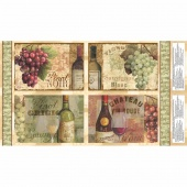 From the Chateau - Place Mat Multi Panel