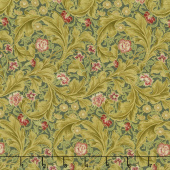 Morris Holiday 1912 - Leicester Pine Metallic Yardage