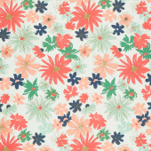 Woodlands - Fusions Ink Outburst Green Yardage