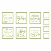 Thrive - Pillow Sassy Green Panel