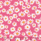 Painted Garden - Daisies For Days Petunia Yardage