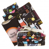 Knit Together 5 Easy Pieces Fat Quarter Bundle