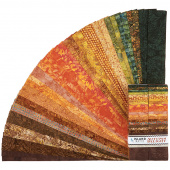 Autumn Delight Batiks Strips