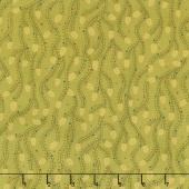 Sage & Sea Glass - Triangle Vines Green Yardage