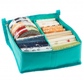 Missouri Star Precut Storage Bag - Small Bold Aqua
