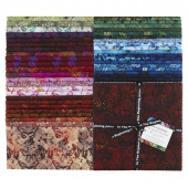 "Seasons Full Collection Digitally Printed 10"" Squares"