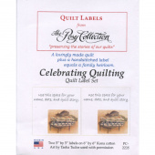 Celebrating Quilting Tasha Tudor Digitally Printed Quilt Labels