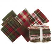 Primo Plaids Christmas Favorites Yarn Dyed Flannel Fat Quarter Bundle