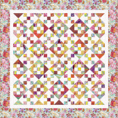 Missouri Star Kaffe Fassett Collective Bright 9-Patch Hourglass Kit