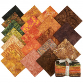 Autumn Delight Batiks Fat Quarter Bundle