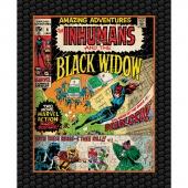 Marvel Comics III - Black Widow Digitally Printed Panel