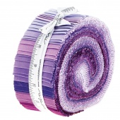 The Colors Of Moda Purple Jelly Roll