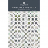 Mini Double Nine-Patch Quilt Pattern by Missouri Star