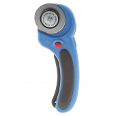Olfa Splash 45mm Ergonomic Rotary Cutter Pacific Blue