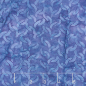 Islander Batiks - Chain Blueberry Yardage