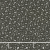 Urban Farmhouse Gatherings - Aster Tractor Oil Grey Yardage