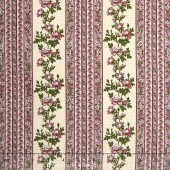 Belcourt - Wallpaper Stripe Rose Pink Yardage