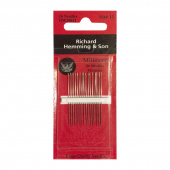 Richard Hemming Large Eye Sewing Needles - Milliners (Size 11)