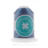 Missouri Star 40 WT Polyester Thread Rock Blue