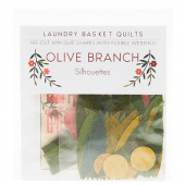 Silhouettes Laser Cut Fusible Appliqué Shapes - Olive Branch
