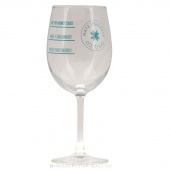 Missouri Star Satin Etched Wine Glass